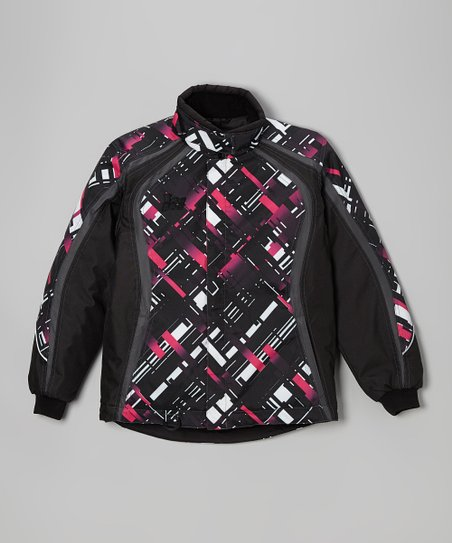 Black Crossfade Mossi Jacket - Girls