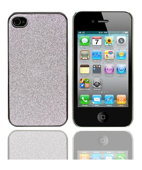 Silver Glamorous Glitz Case for iPhone 4/4s