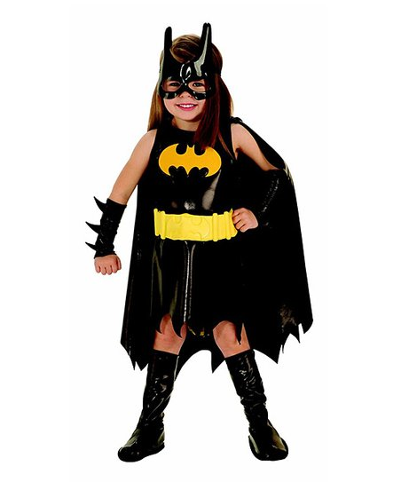 Black Batgirl Dress-Up Set - Toddler