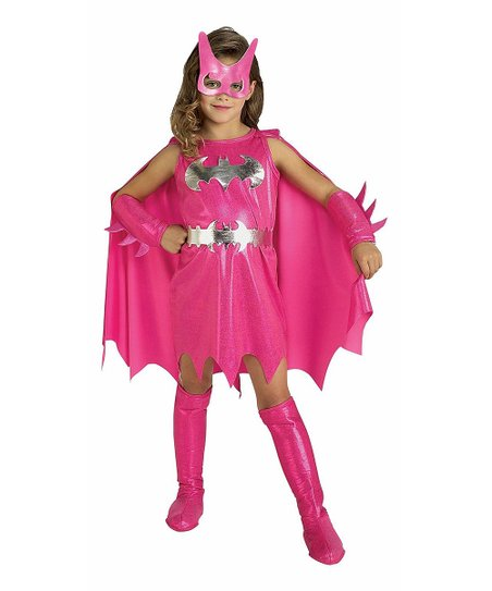 Pink Batgirl Dress-Up Set - Toddler & Girls