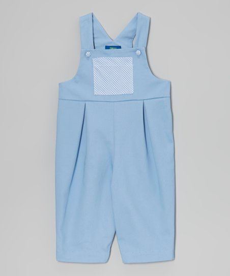 Party Blue Overalls - Infant & Toddler