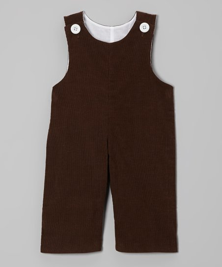 Brown Corduroy Overalls – Infant & Toddler