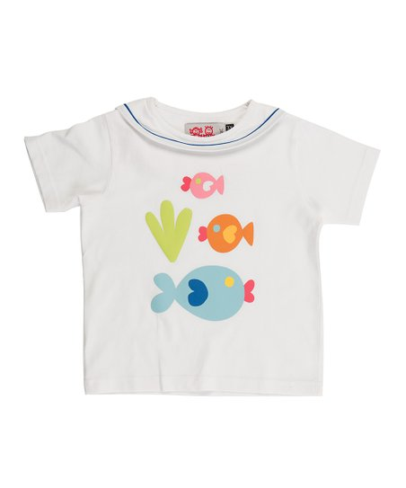 White Fish Tee - Infant, Toddler & Boys