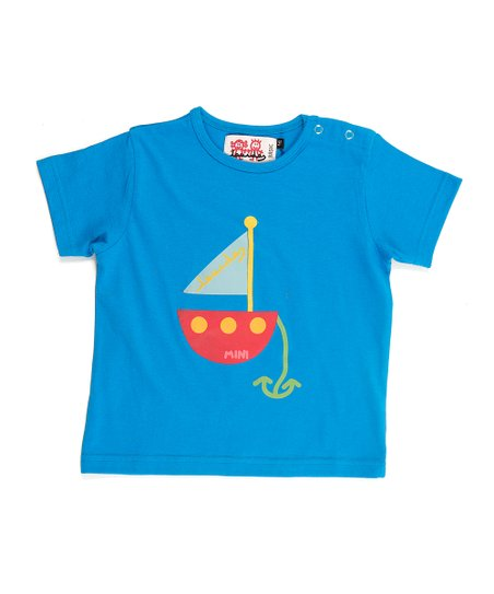 Blue Sailboat Tee - Infant