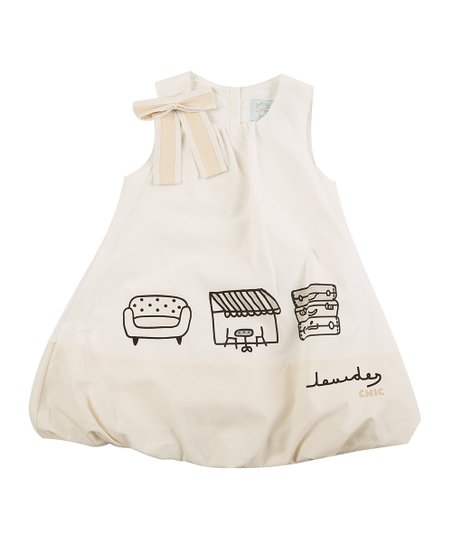 Ivory Voyage Bubble Dress - Infant, Toddler & Girls