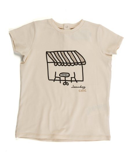 Ivory Voyage Tee - Infant, Toddler & Girls