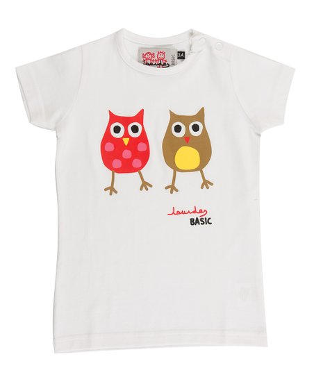 White Owl Tee - Infant, Toddler & Boys