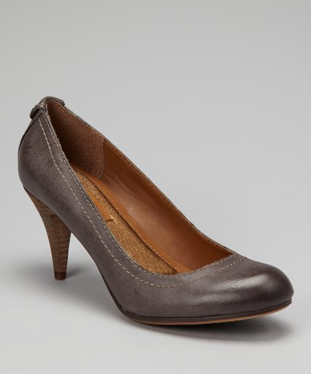 Stone Burnished Tressa Pump