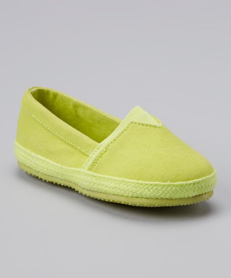 Yellow Slip-On Shoe
