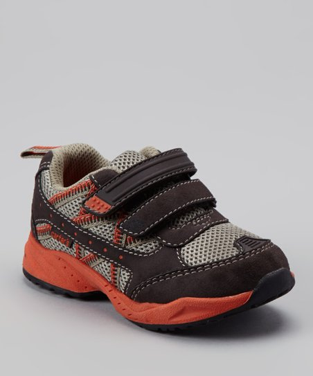 Black & Orange Trupa Sneaker