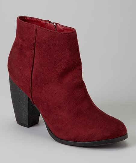 Burgundy Jora Boot
