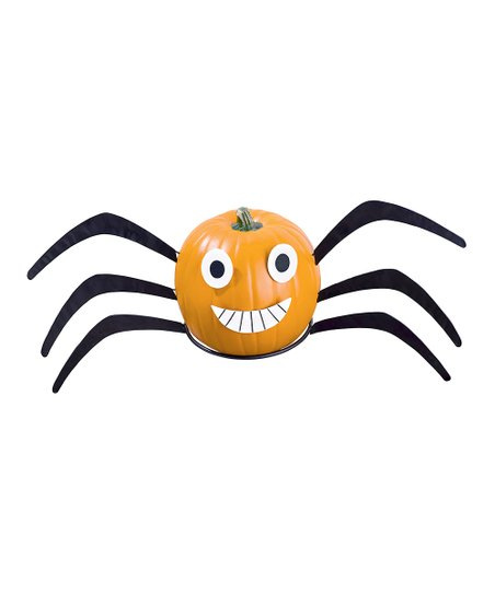 Spider Pumpkin Patch Figurine