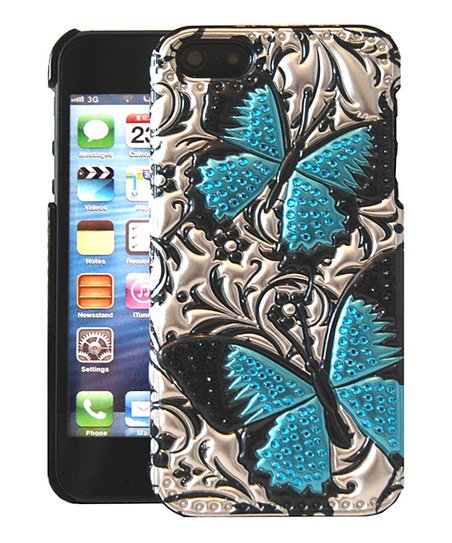 Blue Butterflies Case for iPhone 5