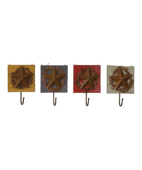 Star Wall Hook Set