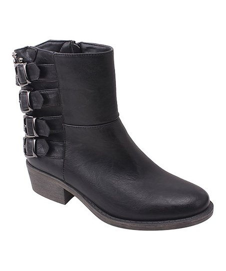 Black Harper02 Ankle Boot