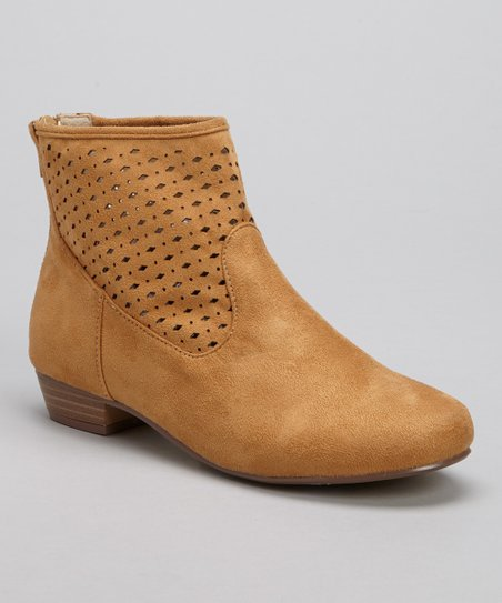 Cognac Tyra-02 Ankle Boot