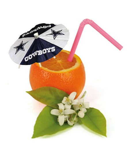 Dallas Cowboys Paper Drink Umbrella Set
