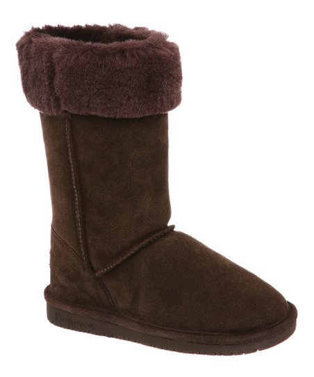 Chocolate Marissa Suede Boot - Women
