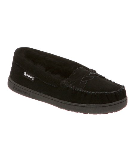 Black Suede Brigetta Slipper - Women