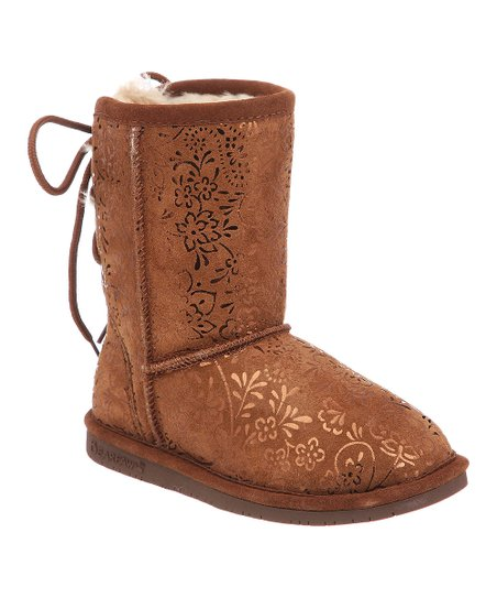 Hickory Suede Ellie Boot - Kids