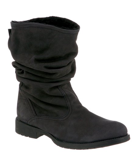 Black Suede Kassidy Boot - Women