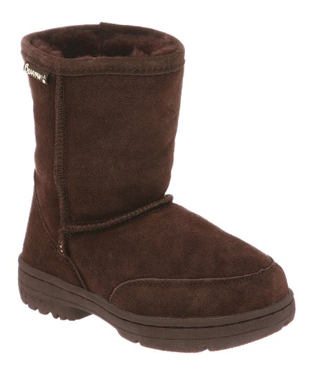 Chocolate Suede Meadow Boot - Kids