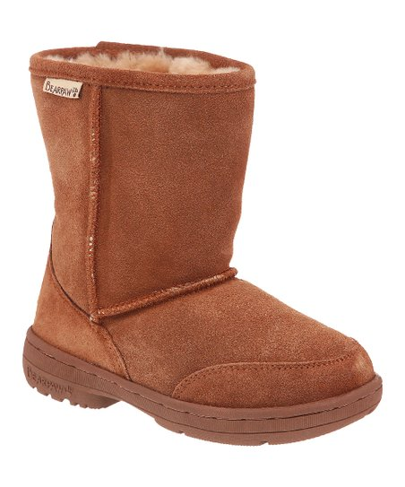 Hickory & Champagne Suede Meadow Boot - Kids