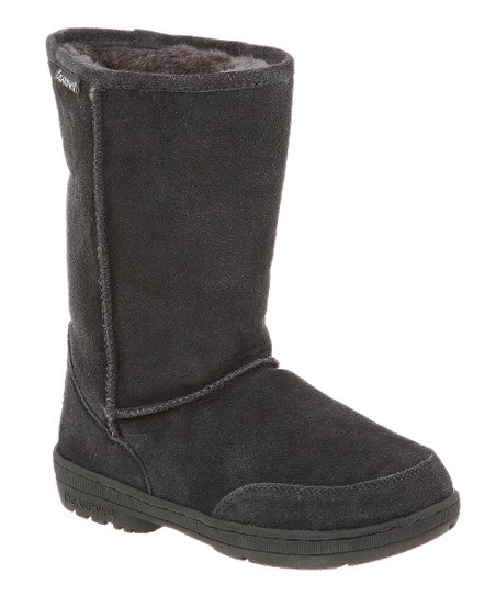 Charcoal Suede Meadow Boot - Women