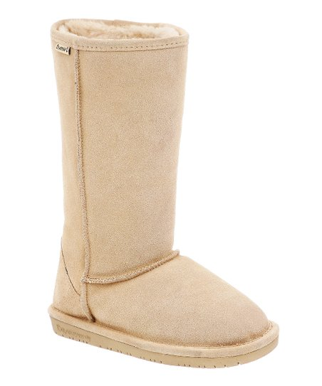 Camel Emma Tall Suede Boot - Women