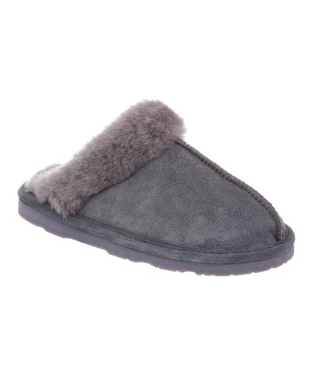 Charcoal Suede Loki II Slipper - Women
