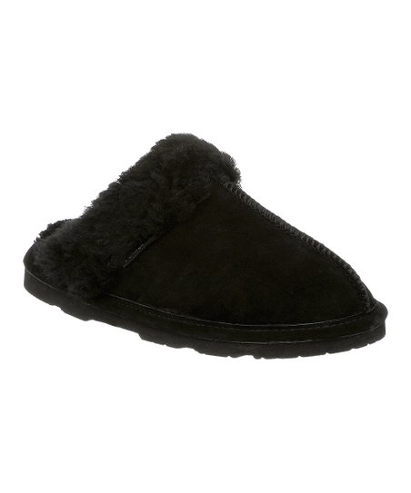 Black Suede Loki II Slipper - Women