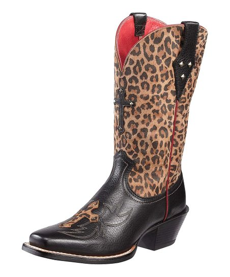 Black Leopard Legend Spirit Boot - Women