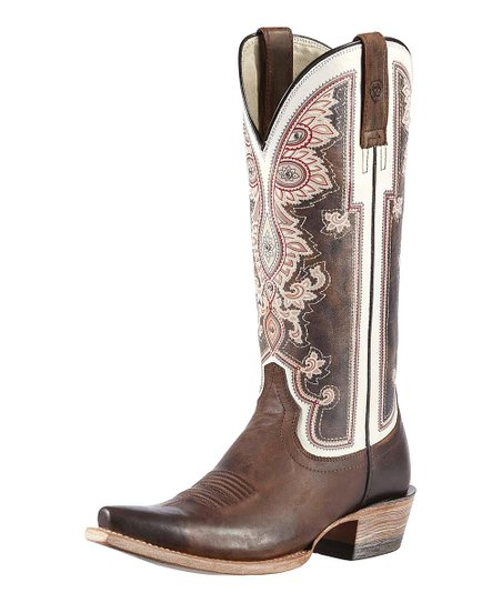 Weathered Brown Alameda Boot - Women