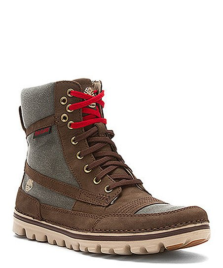 Brown Brookton Roll-Top Boot