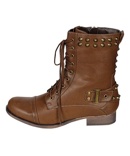 Tan Olympia Ankle Boot