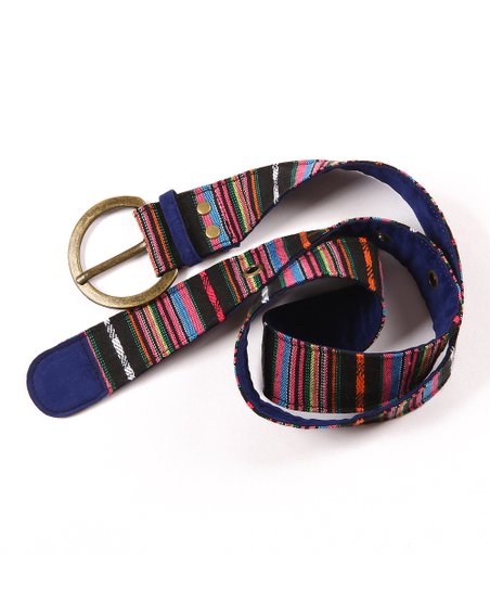 Black Guatemalan Belt - Women