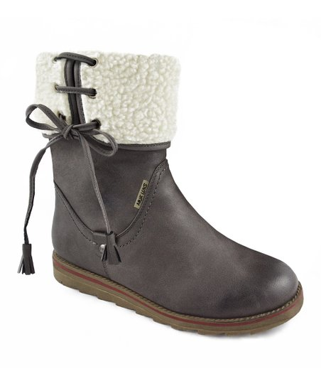 Dark Brown Adele Boot - Women