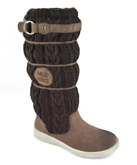 Dark Brown Lainey Scrunch Boot - Women