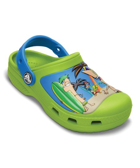Volt Green Creative Crocs Phineas & Ferb™ Clog
