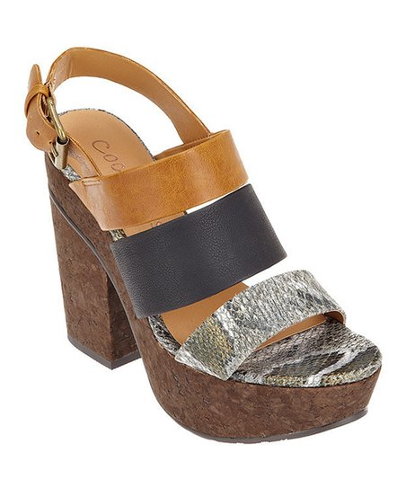 Brown Marianne Sandal