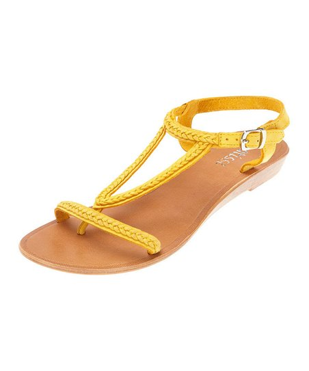 Yellow Erica Sandal
