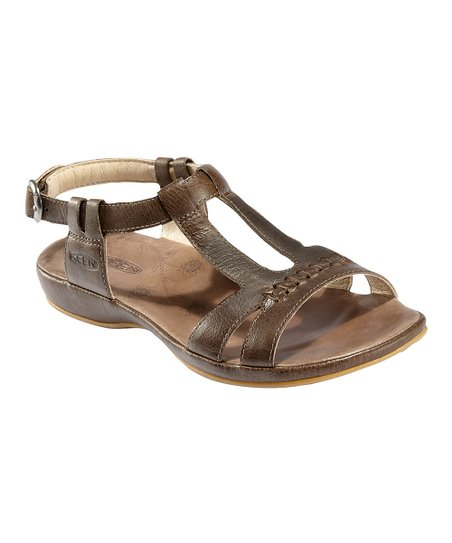 Slate Black Emerald City Leather Sandal - Women