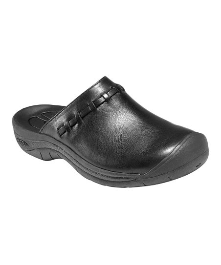 Black Winslow Leather Clog - Women
