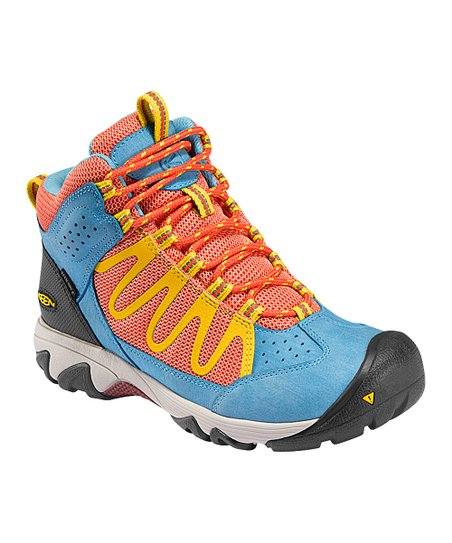 Hot Coral Verdi Mid Waterproof All-Terrain Shoe - Women