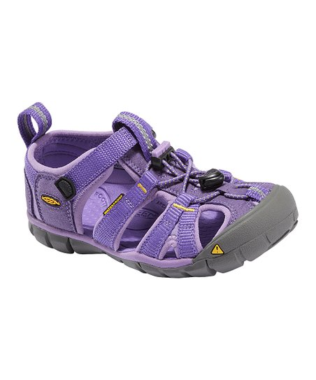 Ultra Violet & Bougainvillea Seacamp CNX Closed-Toe Sandal - Kids