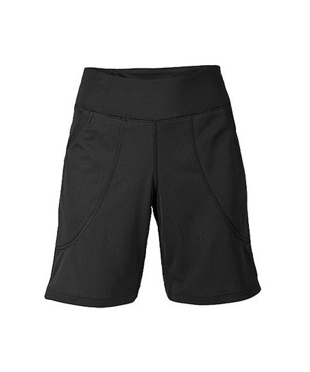 Black 8'' Training Shorts - Women