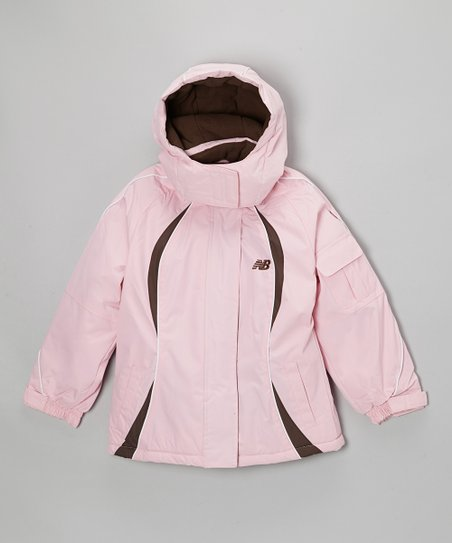 Pink & Brown Jacket - Girls