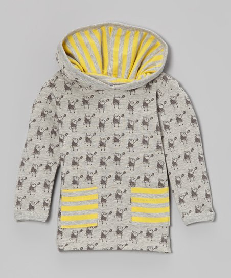 Yellow Beaver Organic Hoodie - Infant & Toddler