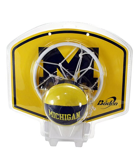 Michigan Basketball Hoop Set