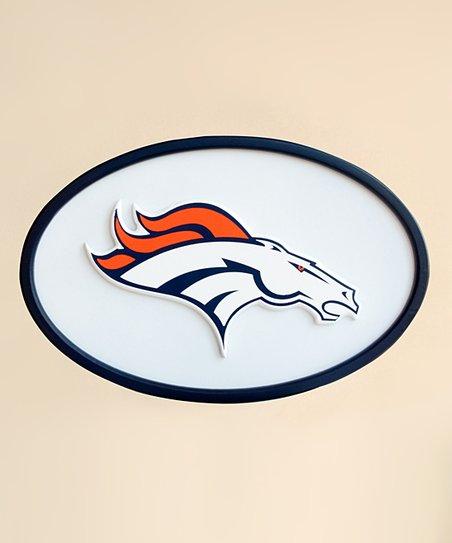 """Denver Broncos 31"""" Logo Wall Art"""